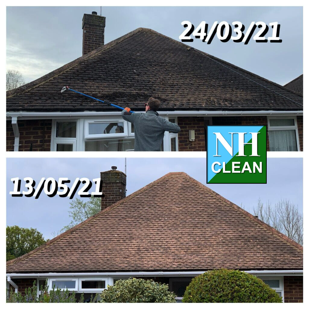Roof Moss Removal  North Herts Clean Services